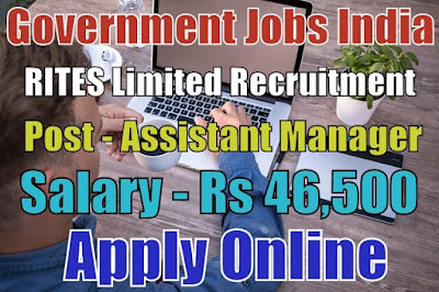 RITES Limited Recruitment 2017 Apply Online Here