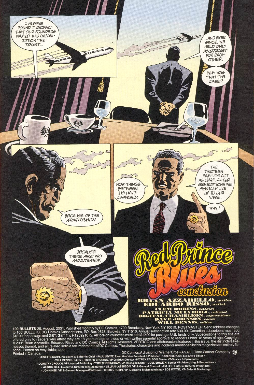 Read online 100 Bullets comic -  Issue #25 - 3