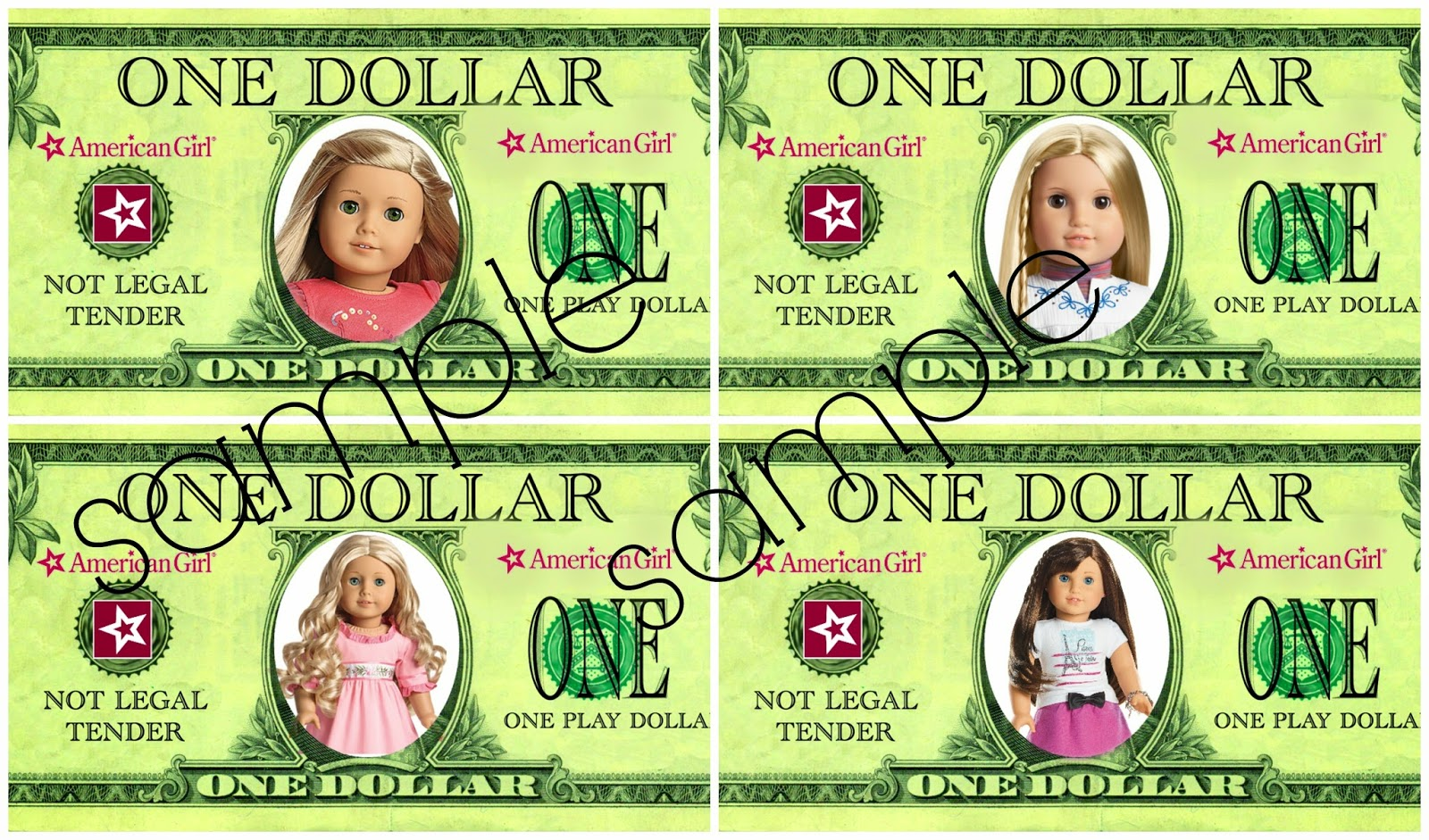 The Every Things American Girl Doll Dollars