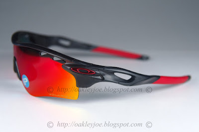 oakley radarlock polarized ot5o  OO9181-24 Radarlock Path $390 blood orange + fire iridium polarized vented  comes with extra black iridium vented lens lens pre coated with Oakley