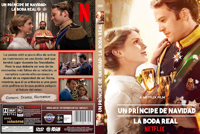 CARATULA Un Principe De Navidad: La Boda Real - A Christmas Prince: The Royal Wedding