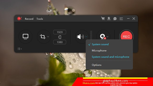 ApowerREC 1.2.4 - Phần mềm quay màn hình đơn giản 2018