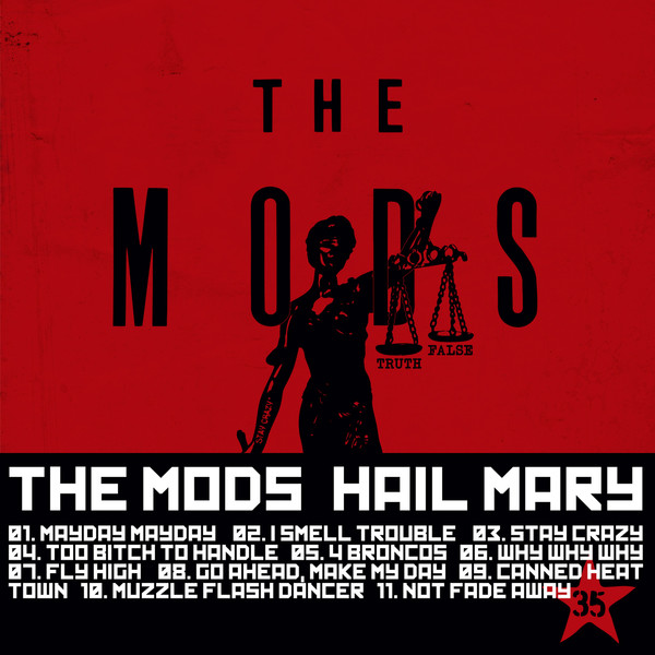 [Album] THE MODS - HAIL MARY (2016.03.23/RAR/MP3)