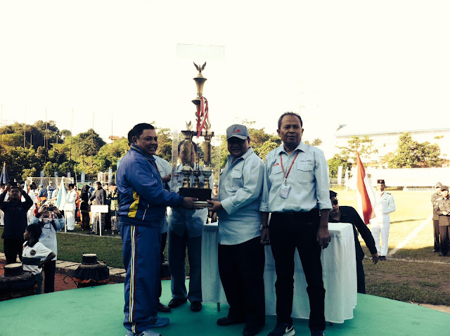 Ketua PWI Pusat Margiono Buka Porwanas XII di Stadion UPI Bandung