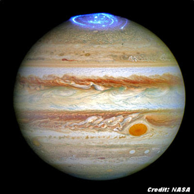 Wild Light Show, Strange Sounds Coming From Jupiter