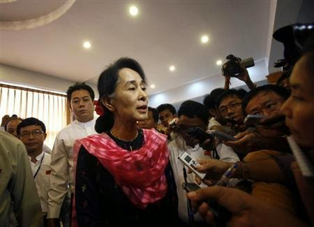 Suu Kyi kutuk had 2 orang anak ke atas keluarga Muslim Rohingya