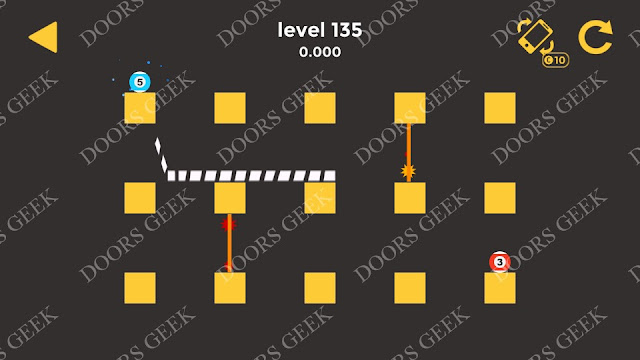 Ball & Ball Level 135 Solution, Walkthrough, Cheats for android and ios