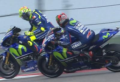 Rossi vs Vinales Sepakat Berdamai Usai Cek-cok di Kualifikasi