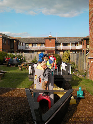 pirates ahoy at the pub climbing frame for kids