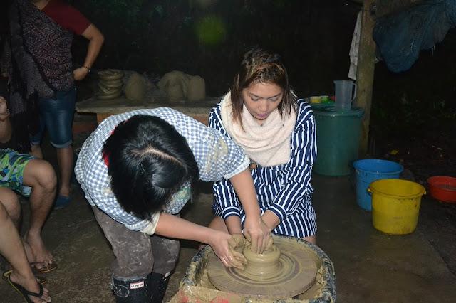 Sagada Pottery pot making