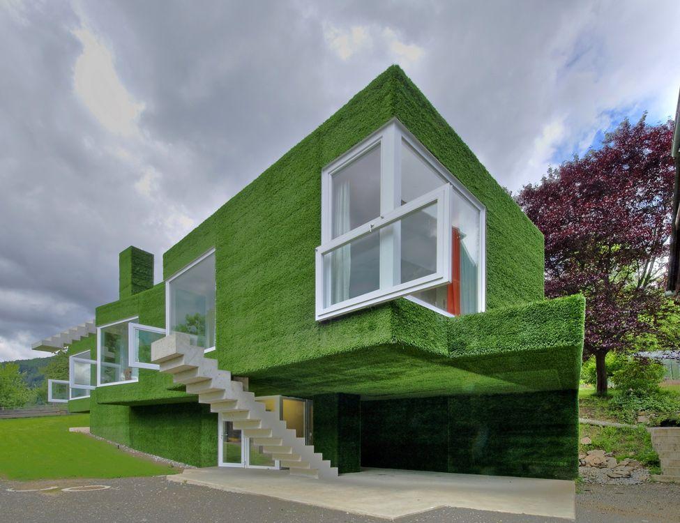 Green Home Design Ideas: Eddy Choice: Green House In Austria