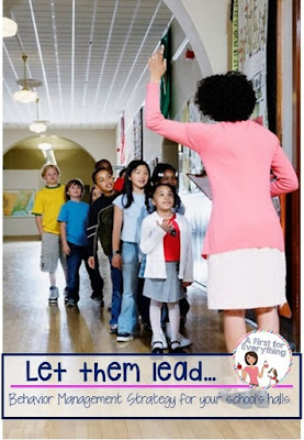 Motivating behavior management strategy to help your kindergarten, first, second students be respectful and well behaved citizens in the hallway {K, 1st, 2nd grade}