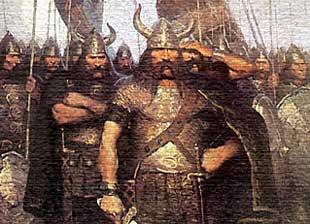 هجوم الفايكنج على الأندلس