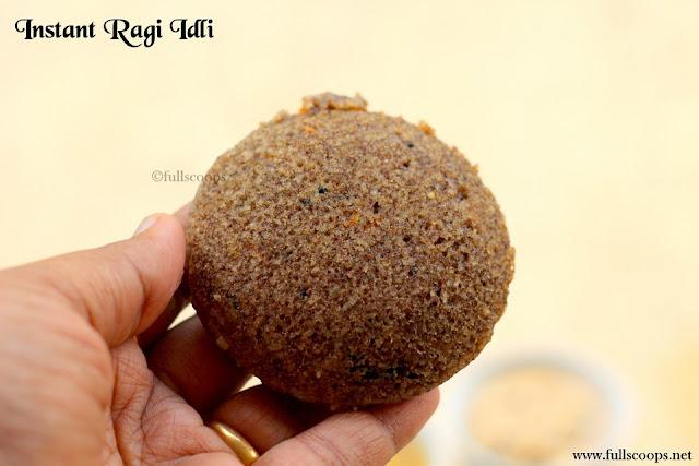 Instant Ragi Idli