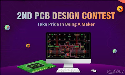 PCBWay design contest, pcb design contest