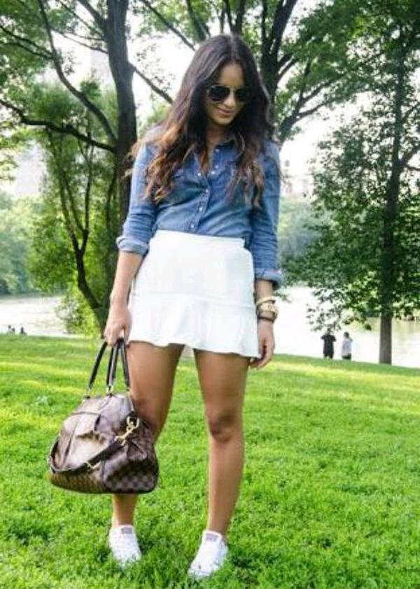 Faldas y zapatillas