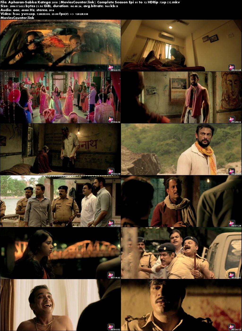 Screen Shot Apharan 2018 Hindi HD 720p