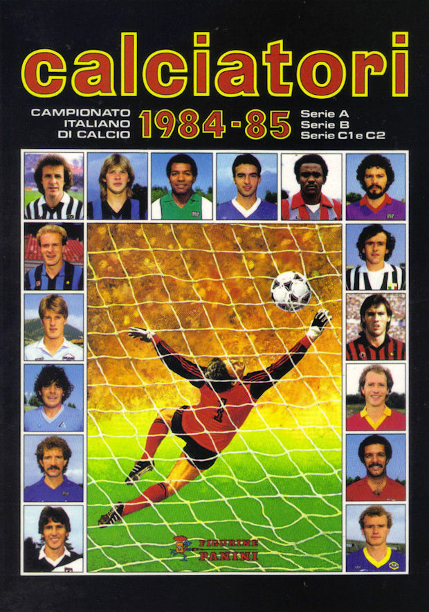 Football cartophilic info exchange panini italy for Serie a table 1984 85