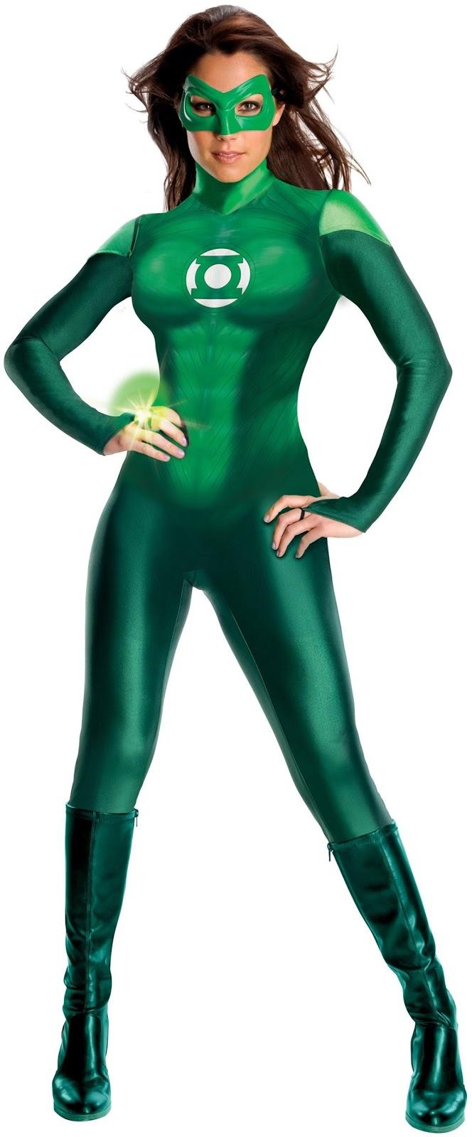 Adult Green Lantern Costumes 7