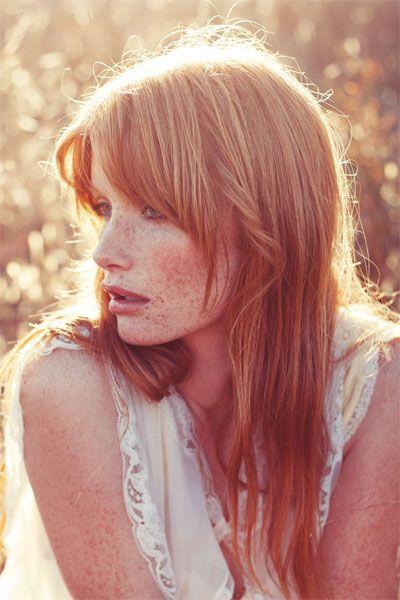 aqu varias imgenes de color de cabello rubio cobrizo como fuente de inspiracin