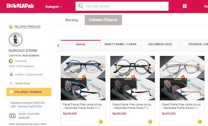 Toko Kacamata Kurcaci Store - Bukalapak