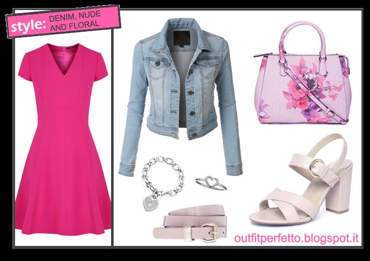 77a73144dacb Outfit Perfetto  Come abbinare un VESTITO FUCSIA (outfit Primavera ...