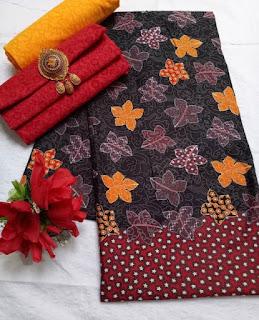 Kain Batik dan Embos 472a1 Merah