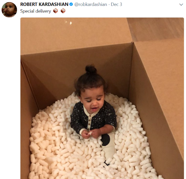 Rob Kardashian shares very cute photo of his 1year old daughter