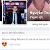Fecebook NguyễnTrung Hiếu diễn hề không đúng chỗ.