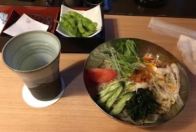 和食処「竹」韓国風冷麺
