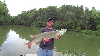 Muskie Fishing with Tennessee Valley Muskie Authority