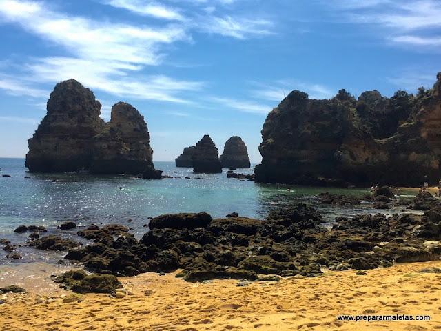 Playa Do Camilo algarve
