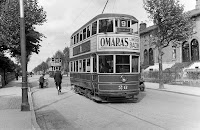 Trams on the North Circular Road