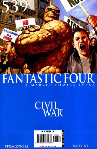 Civil War: Fantastic Four #539 PDF