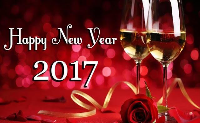 immagini di buon anno 2017 in Inglese
