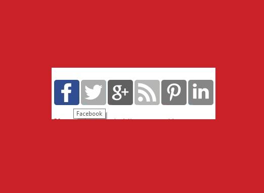Widgets para Blogger - Widget de perfiles sociales