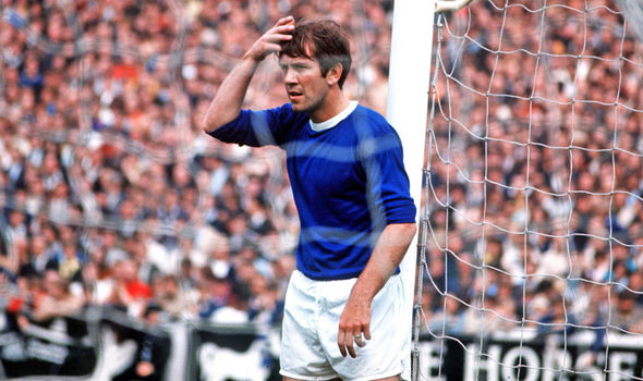 Howard Kendall Everton Legend Footy Fair