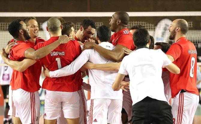 Blog Benfica vencedor da Taça de Portugal de Voleibol