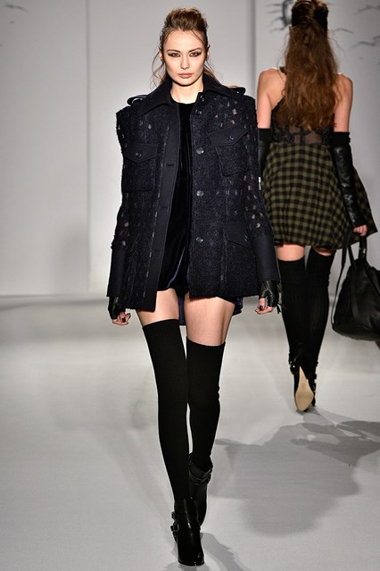 Paul Costelloe Autumn Winter 2016 London Fashion Week show - UK style blog