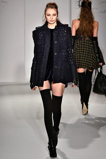 Paul Costelloe Autumn Winter 2016 London Fashion Week show - UK style blog