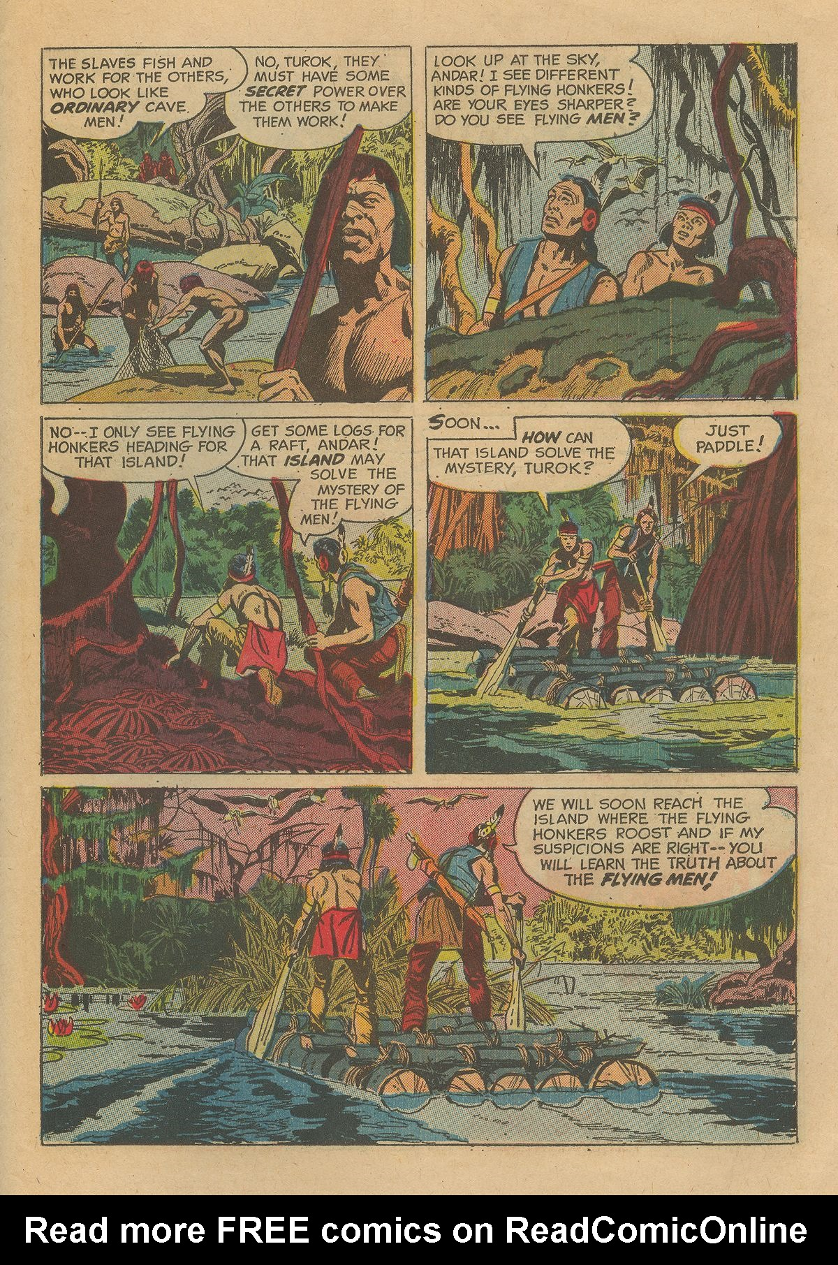 Read online Turok, Son of Stone comic -  Issue #54 - 27