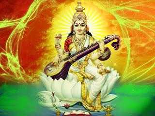 Saraswati Goddess of Knowledge