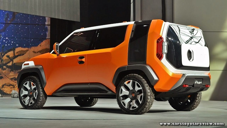 Toyota FT-4X Concept SUV