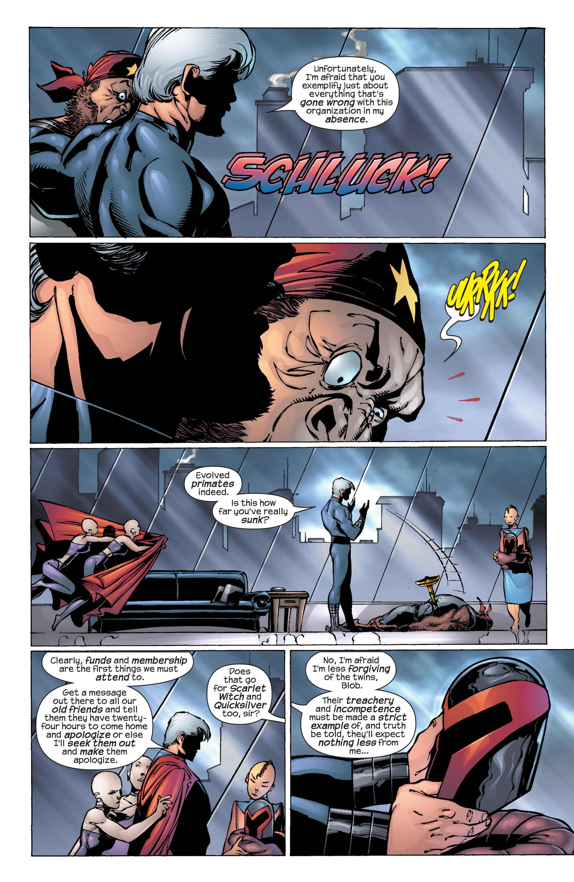Read online Ultimate X-Men comic -  Issue #25 - 29