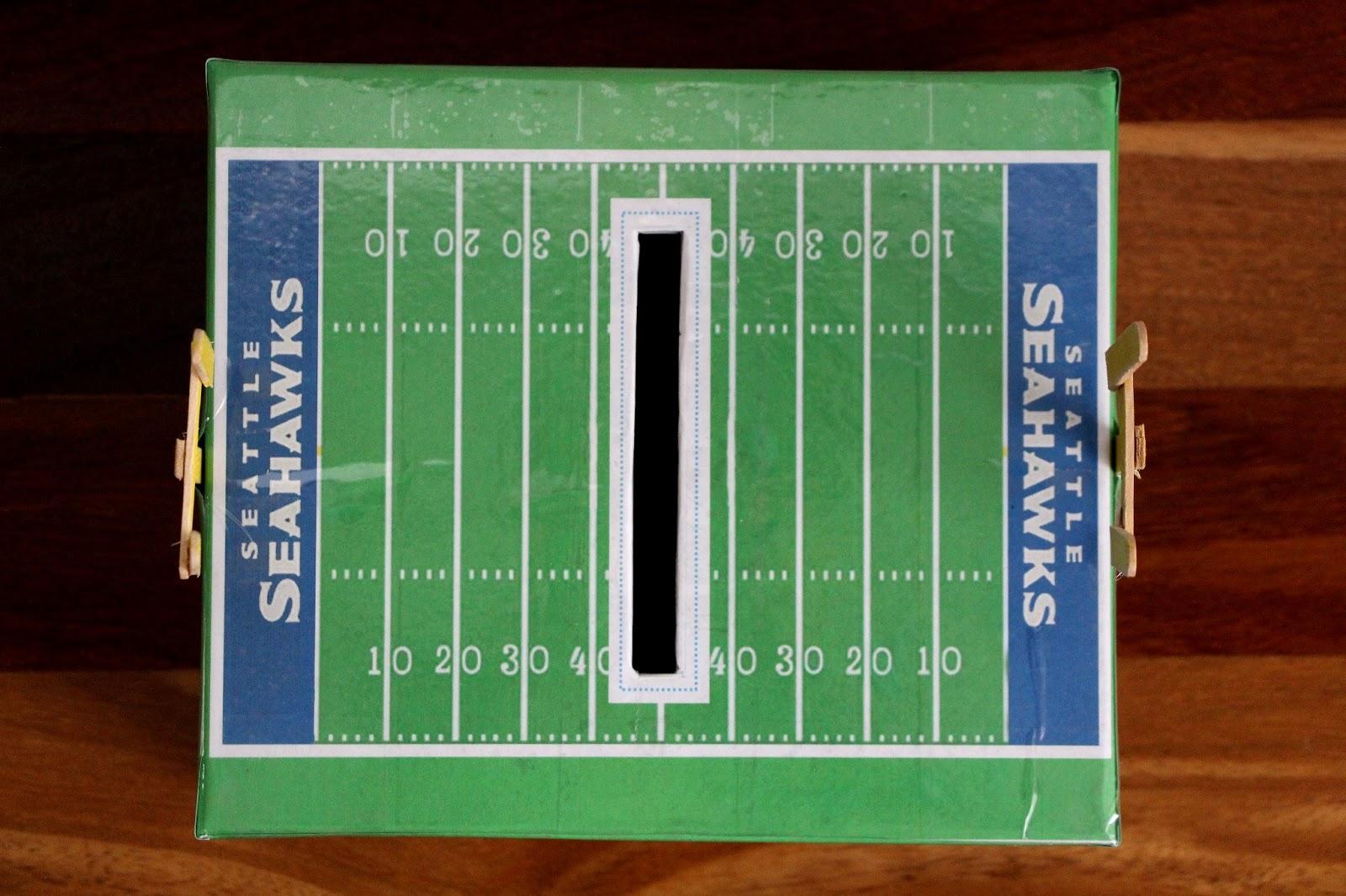 The Contemplative Creative Seahawks Valentine Box