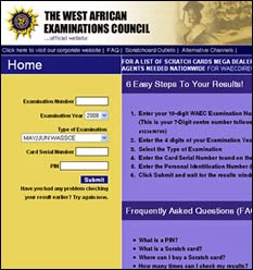 2016 WAEC RESULT CHECKER WAEC 2016 Result checker, www.waecdirect.org