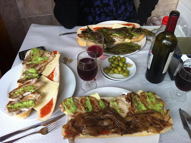 Almuerzos populares - Bocadillos del bar Miranda Ontinyent