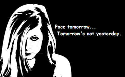 """Avril Lavigne Quotes About Tomorrow"""