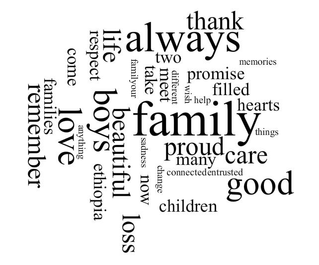 Agnostic Adoption: Family letter