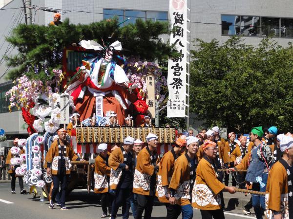 Morioka Hachiman-gu Reisai & Morioka Aki Matsuri Dashi, Morioka, Iwate Pref.